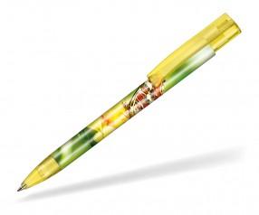 Ritter Pen Stratos transparent FOIL Kugelschreiber 57910 3210 ananasgelb