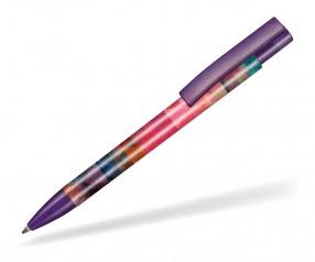 Ritter Pen Stratos transparent FOIL Kugelschreiber 57910 3903 Pflaumen-Lila