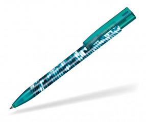 Ritter Pen Stratos transparent FOIL Kugelschreiber 57910 4044 Smaragd-Grün