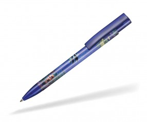 Ritter Pen Stratos transparent FOIL Kugelschreiber 57910 4303 Royal-Blau