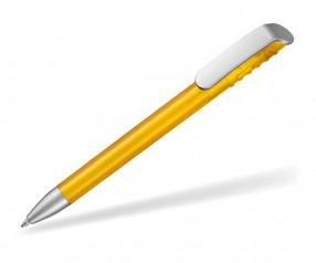 Ritter Pen Top Spin Frozen SI 10083 Kugelschreiber 3229 Sonnenblumen-Gelb