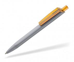 Ritter Pen TRISTAR Soft STP Kugelschreiber 43531 1400 3505 Steingrau Mangogelb