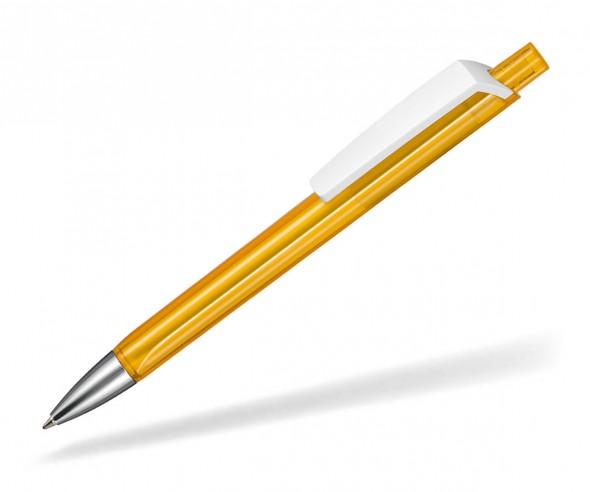 Ritter Pen TRISTAR Transparent S Kugelschreiber Werbung 53530 3505 Mango-Gelb