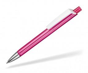 Ritter Pen TRISTAR Transparent S Kugelschreiber Werbung 53530 3806 Magenta