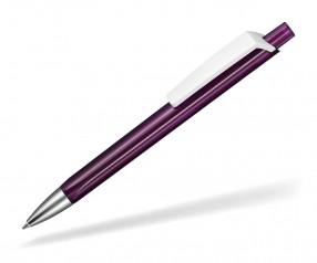Ritter Pen TRISTAR Transparent S Kugelschreiber Werbung 53530 3903 Pflaumen-Lila