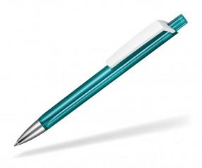 Ritter Pen TRISTAR Transparent S Kugelschreiber Werbung 53530 4044 Smaragd-Grün