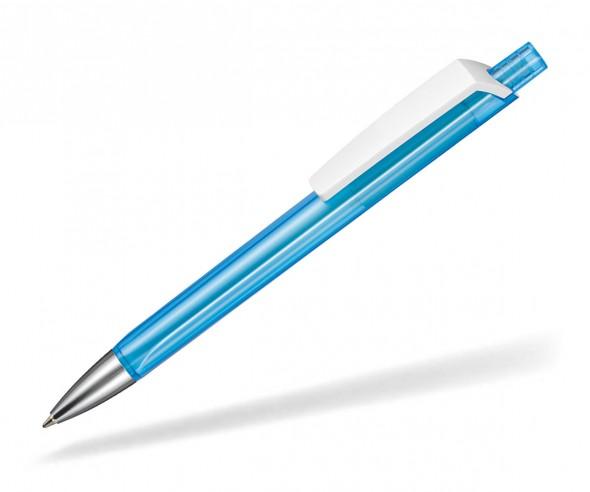 Ritter Pen TRISTAR Transparent S Kugelschreiber Werbung 53530 4110 Caribic-Blau