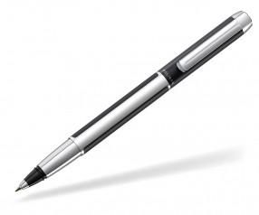 Pelikan Pura Tintenroller silber schwarz