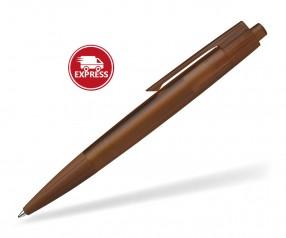 Schneider Kugelschreiber LIKE transparent braun, 6-Tage-EXPRESS möglich