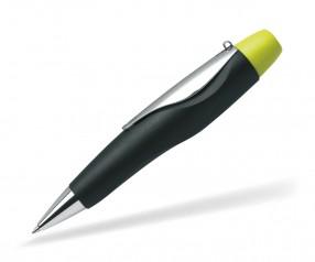Schneider Kugelschreiber ID mit Drehknopf in gelb