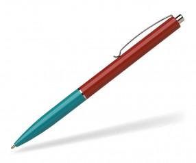 Schneider Kugelschreiber K15 mit Drücker rot türkis