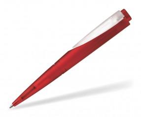 Schneider Promotion Kugelschreiber F-ACE rot klar