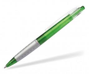 Schneider Kugelschreiber LOOX PROMO grün grau klar