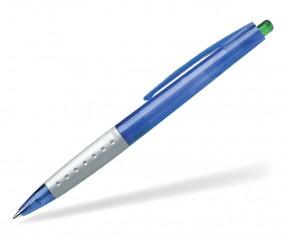 Schneider Kugelschreiber LOOX PROMO blau grau grün