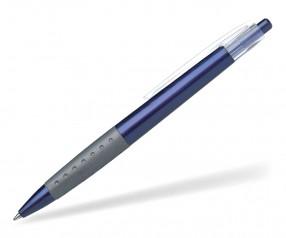 Schneider Kugelschreiber LOOX PROMO blau anthrazit klar