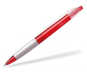 Schneider Kugelschreiber LOOX PROMO rot grau klar