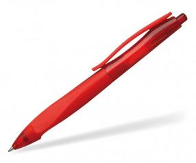Schneider Kugelschreiber HAPTIFY PROMO gummiert rot