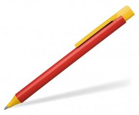 Schneider Kugelschreiber ESSENTIAL opak rot gelb
