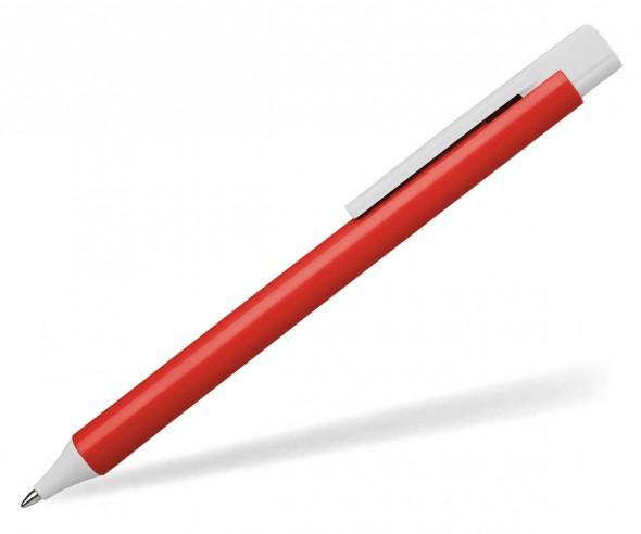 Schneider Kugelschreiber ESSENTIAL opak rot weiß