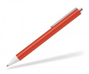Schneider Kugelschreiber EVO opak rot weiß
