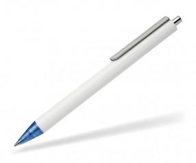 Schneider Kugelschreiber EVO opak weiß blau 02