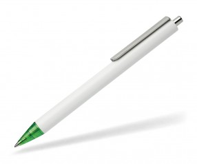 Schneider Kugelschreiber EVO opak weiß grün