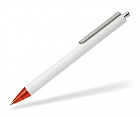 Schneider Kugelschreiber EVO opak weiß rot 01