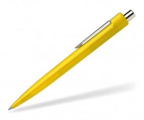 Schneider Kugelschreiber K1 mit Drücker gelb
