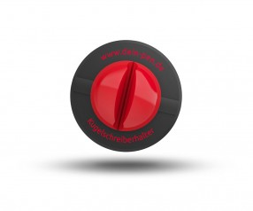 Schneider Kulihalter KLICK-FIX schwarz-rot
