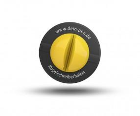 Schneider Penholder KLICK-FIX schwarz-gelb