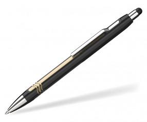 Schneider Touchpen Kugelschreiber Epsilon schwarz gold
