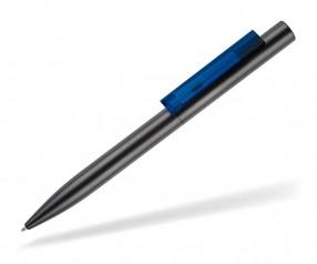 senator SIGNER LINER Werbekugelschreiber 2709 gun metal blau 286
