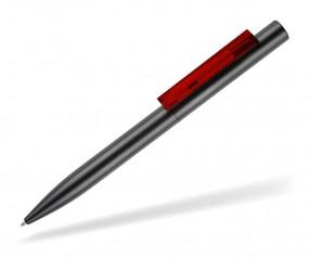 senator SIGNER LINER Werbekugelschreiber 2709 gun anthrazit rot 186