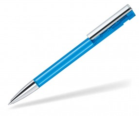senator Liberty Clear MTT MC 2985 Kugelschreiber Cyan Blau