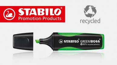 STABILO GREEN BOSS – Textmarker aus Recycling-Kunststoff