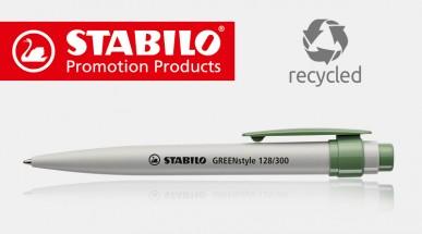 STABILO GREENstyle – Kugelschreiber aus Recycling-Kunststoff