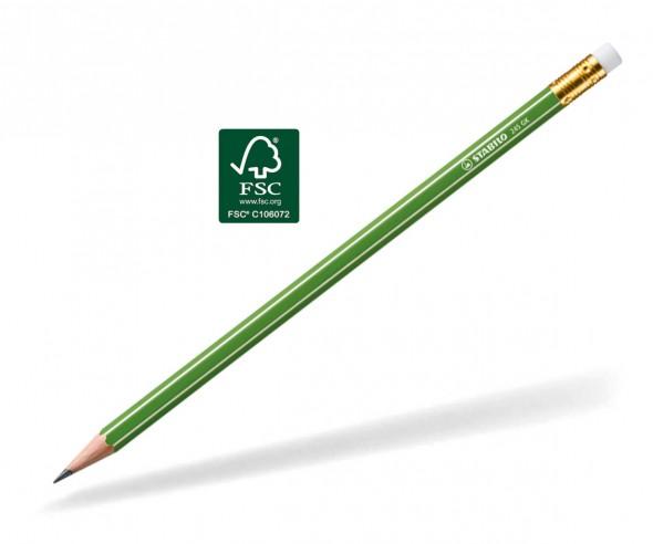 STABILO GREENgraph Bleistift 245 GK mit Radierer