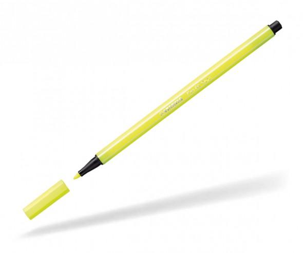 STABILO Neon-Filzstift point 68 neongelb 24