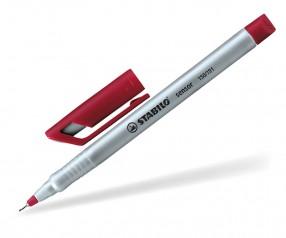 STABILO Sensor Fineliner silber rot