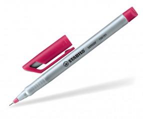 STABILO Sensor Fineliner silber rosa