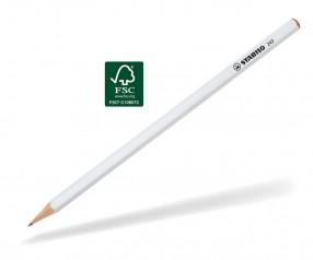 STABILO Bleistift 243 6-kant weiss lackiert