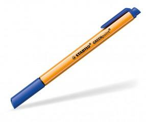 STABILO Faserschreiber GREENpoint blau