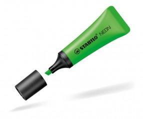 STABILO Textmarker NEON Tube grün