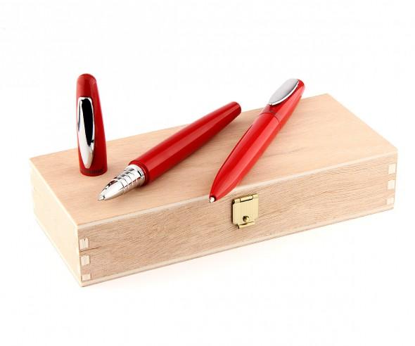 STABILO Schreibset cigarro Box mit Kugelschreiber und Rollerball