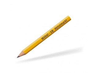 STAEDTLER kurzer Bleistift 16001W hexagonal gelb