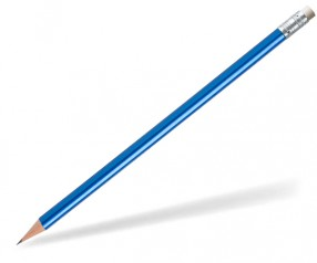 STAEDTLER Bleistift 16210W Radierer rund blau-metallic