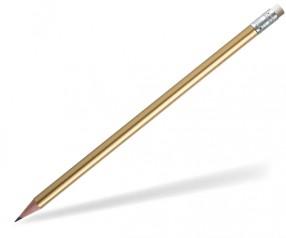 STAEDTLER Bleistift 16210W Radierer rund gold
