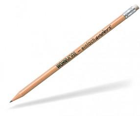 STAEDTLER Bleistift 16210NW Radierer rund natur