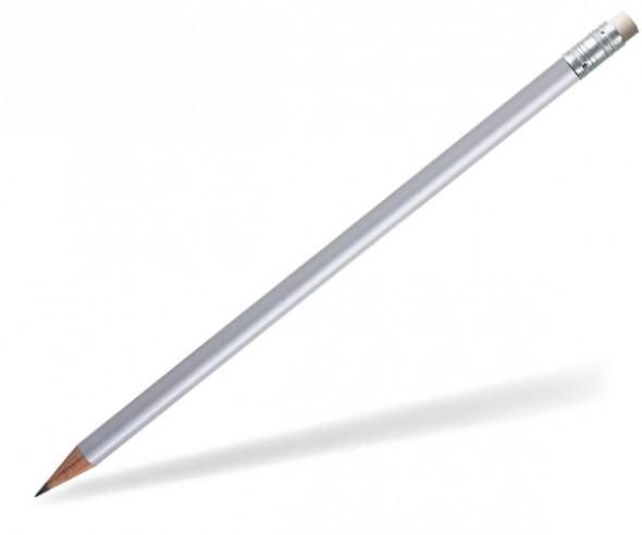 STAEDTLER Bleistift 16210W Radierer rund silber