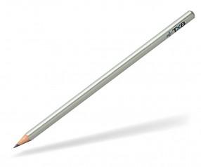 STAEDTLER Bleistift Werbeartikel 118W dreikant silber